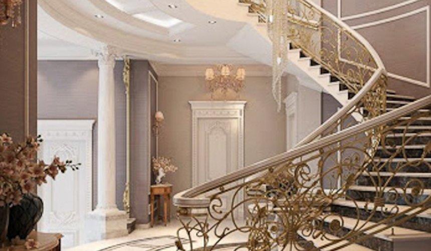 Дизайн интерьера коттеджа классическом стиле в Карасьозерске 5