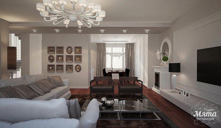 Дизайн интерьера трехкомнатной квартиры в Тихвине 3