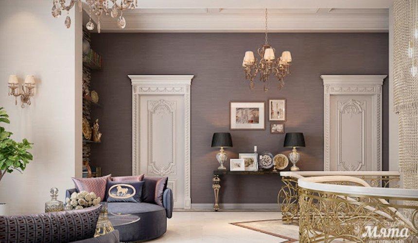 Дизайн интерьера коттеджа классическом стиле в Карасьозерске 6