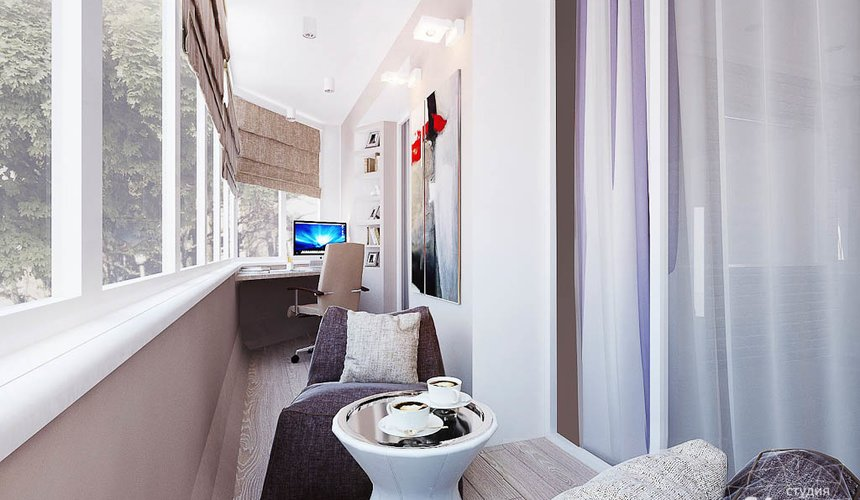 Дизайн интерьера двухкомнатной квартиры по ул. Малышева 38 10