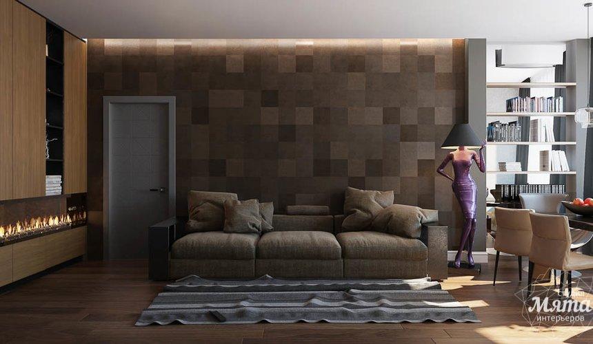 Дизайн интерьера двухкомнатной квартиры по ул. Юмашева 9 3