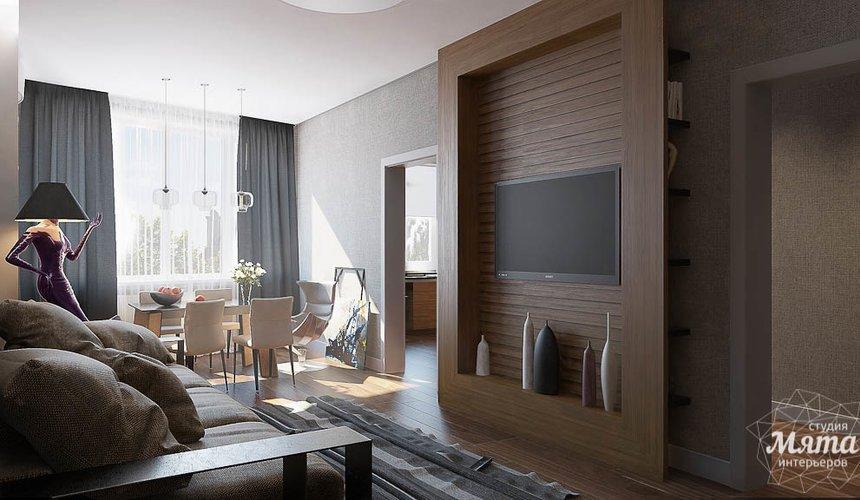 Дизайн интерьера двухкомнатной квартиры по ул. Юмашева 9 8