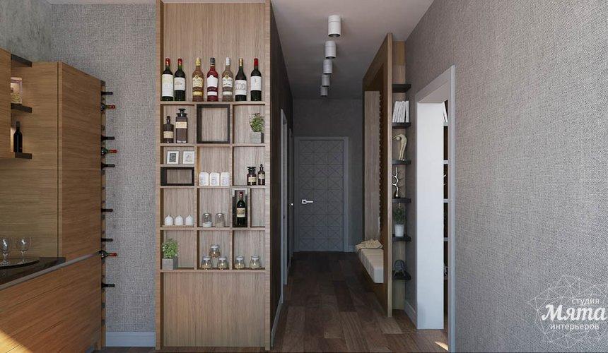 Дизайн интерьера двухкомнатной квартиры по ул. Юмашева 9 9