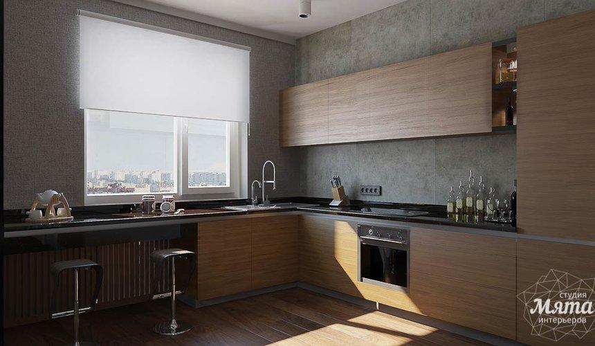 Дизайн интерьера двухкомнатной квартиры по ул. Юмашева 9 10