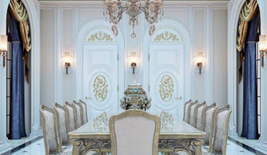 Дизайн интерьера коттеджа классическом стиле в Карасьозерске 8