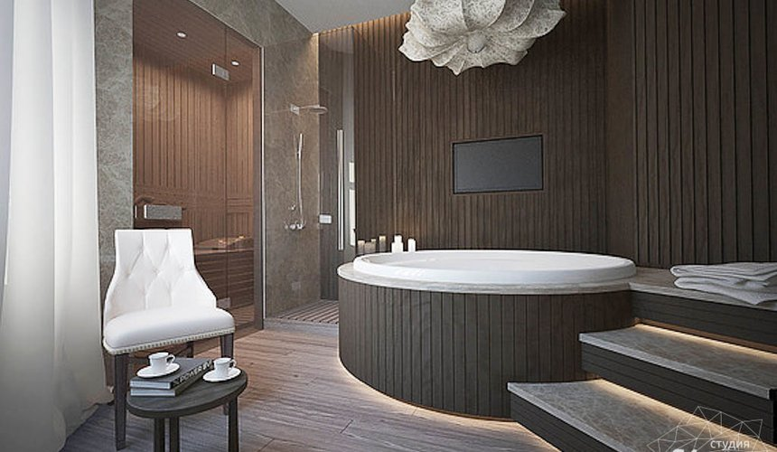 Дизайн интерьера трехкомнатной квартиры в Антаресе  18
