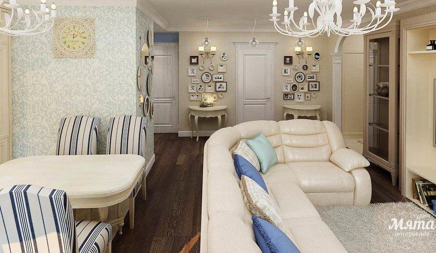 Дизайн интерьера однокомнатной квартиры по ул. Юмашева 10 7
