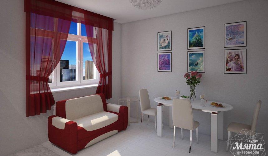 Дизайн интерьера  и ремонт трехкомнатной квартиры по ул. Машинная 44 44