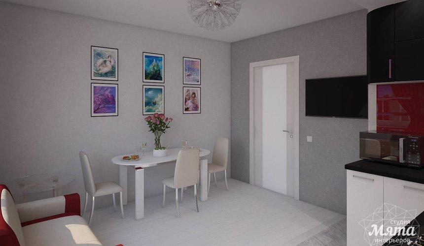Дизайн интерьера  и ремонт трехкомнатной квартиры по ул. Машинная 44 45