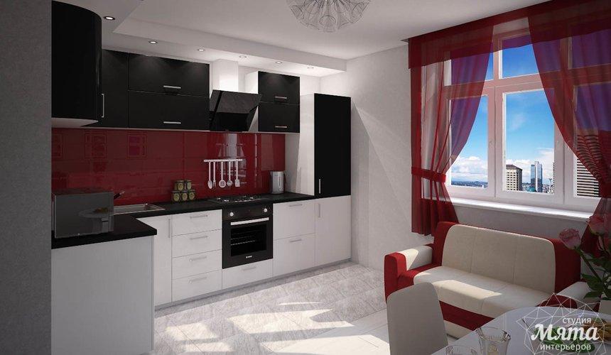 Дизайн интерьера  и ремонт трехкомнатной квартиры по ул. Машинная 44 47