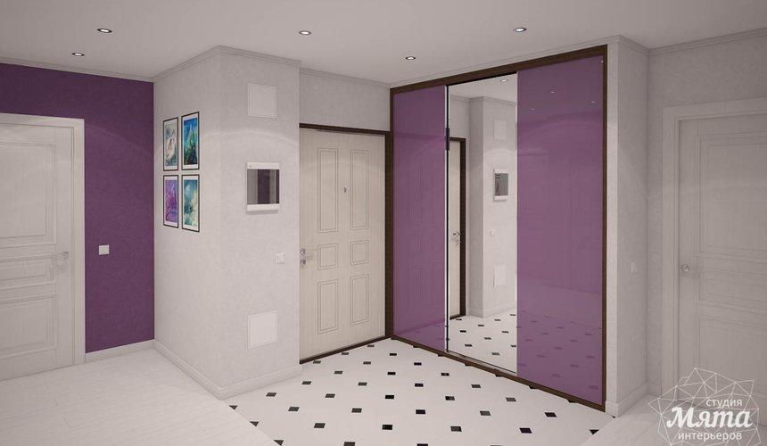 Дизайн интерьера  и ремонт трехкомнатной квартиры по ул. Машинная 44 55