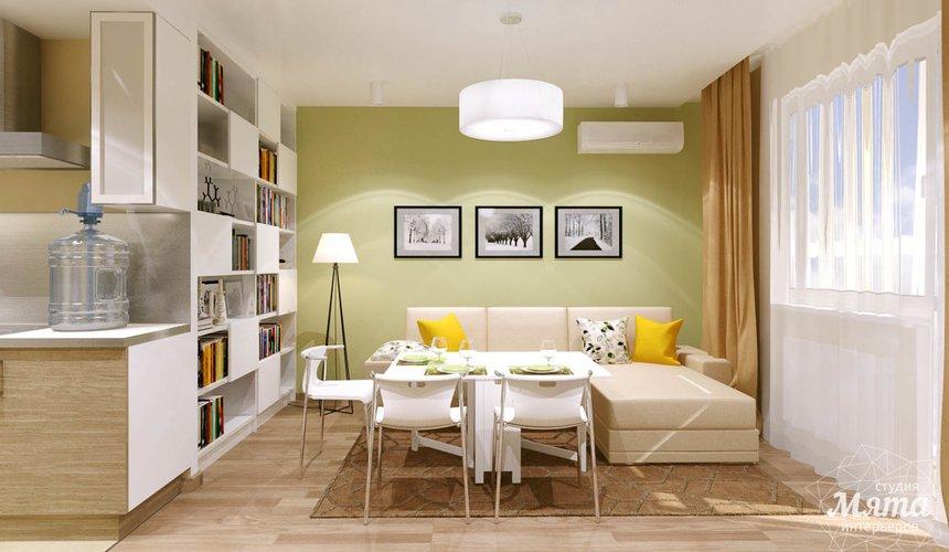 Дизайн интерьера двухкомнатной квартиры по ул. Машинная 40 20