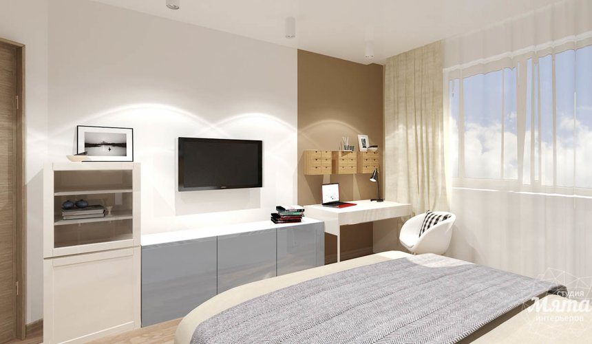 Дизайн интерьера двухкомнатной квартиры по ул. Машинная 40 3