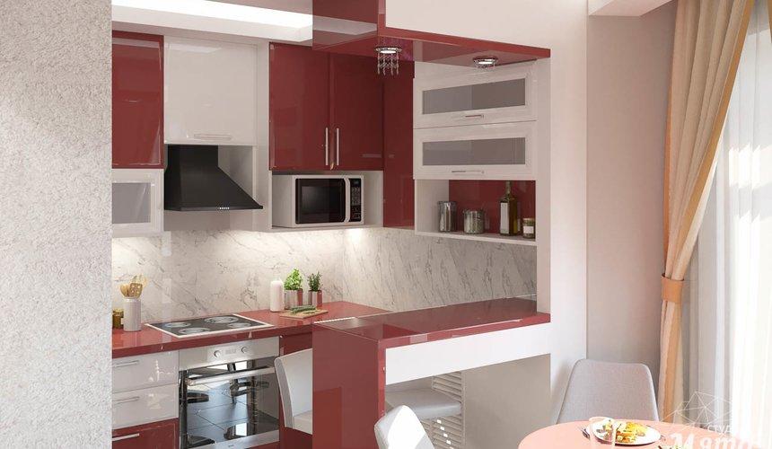 Дизайн интерьера трехкомнатной квартиры по ул. Фурманова 114 5