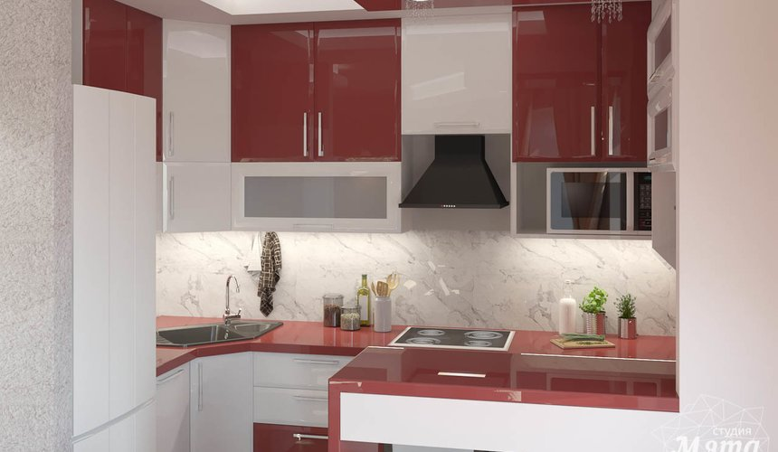 Дизайн интерьера трехкомнатной квартиры по ул. Фурманова 114 6