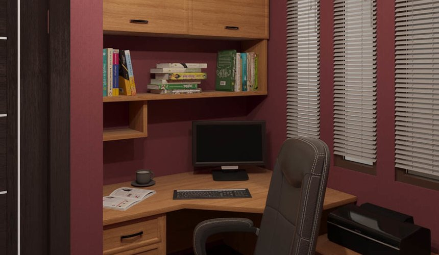 Дизайн интерьера трехкомнатной квартиры по ул. Фурманова 114 21