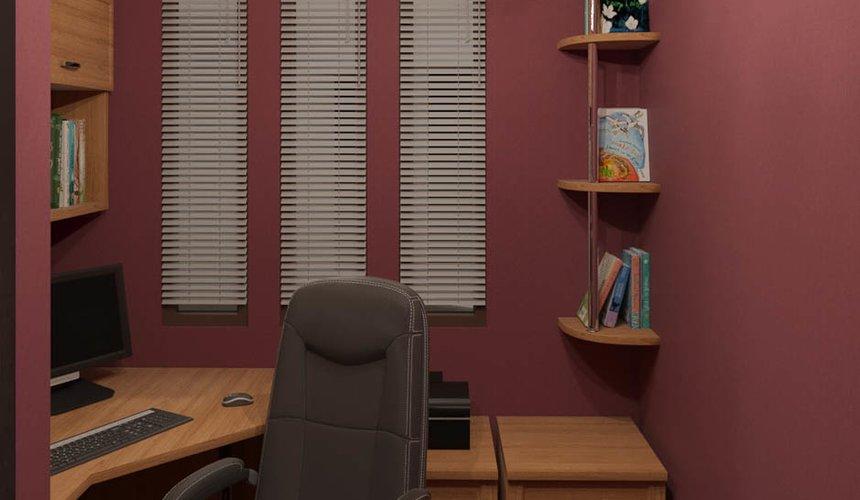 Дизайн интерьера трехкомнатной квартиры по ул. Фурманова 114 22