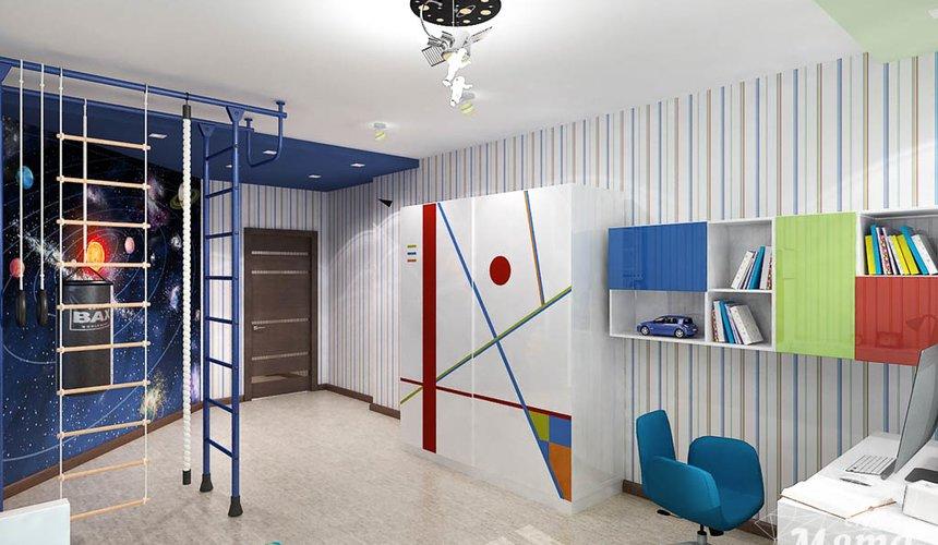 Дизайн интерьера и ремонт трехкомнатной квартиры по ул. Авиационная, 16  84