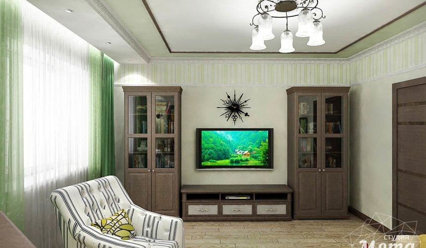 Дизайн интерьера и ремонт трехкомнатной квартиры по ул. Авиационная, 16  64