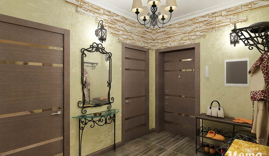 Дизайн интерьера и ремонт трехкомнатной квартиры по ул. Авиационная, 16  72