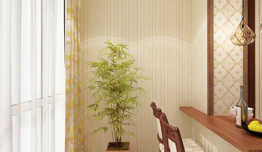 Дизайн интерьера и ремонт трехкомнатной квартиры по ул. Авиационная, 16  70