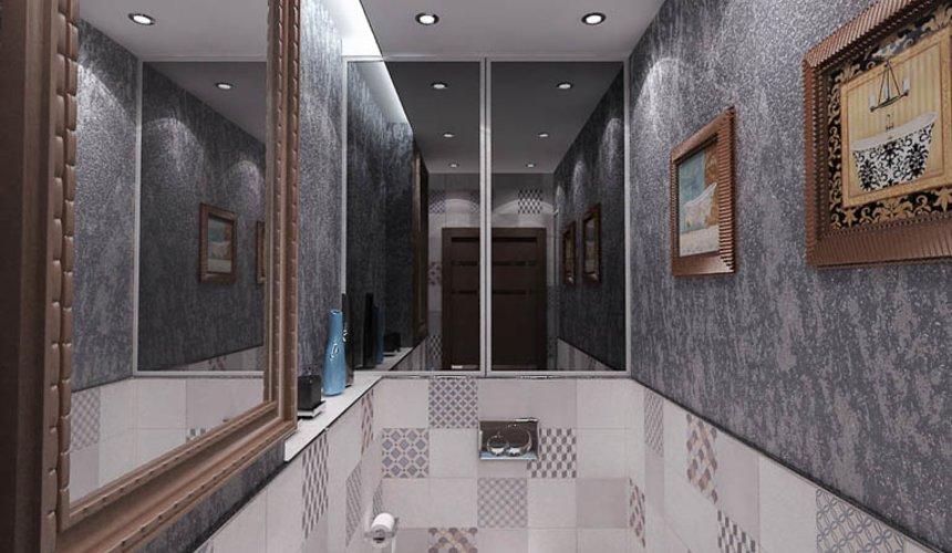 Дизайн интерьера и ремонт трехкомнатной квартиры по ул. Авиационная, 16  95