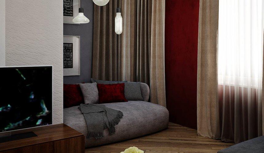 Дизайн интерьера и ремонт трехкомнатной квартиры по ул. Татищева 49 88