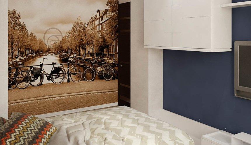 Дизайн интерьера и ремонт трехкомнатной квартиры по ул. Татищева 49 95