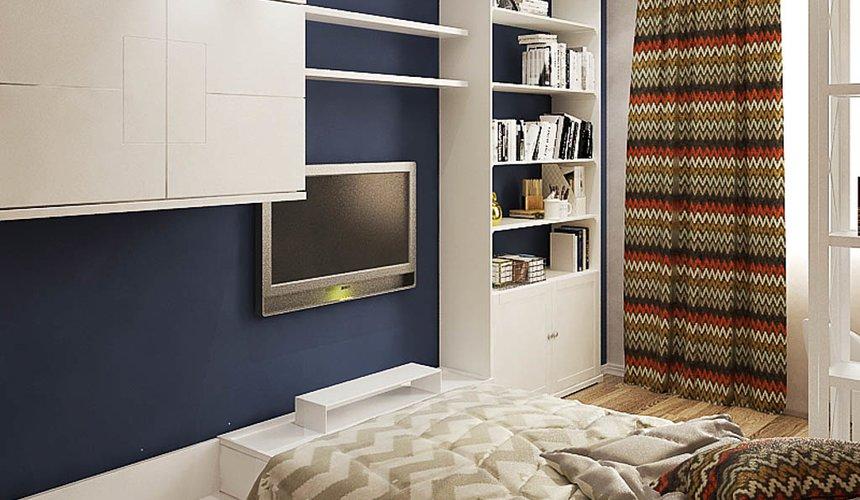 Дизайн интерьера и ремонт трехкомнатной квартиры по ул. Татищева 49 96