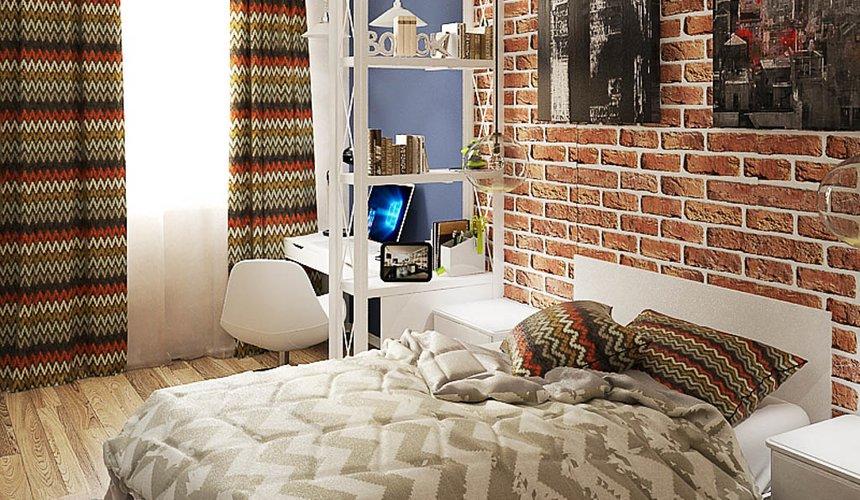 Дизайн интерьера и ремонт трехкомнатной квартиры по ул. Татищева 49 98