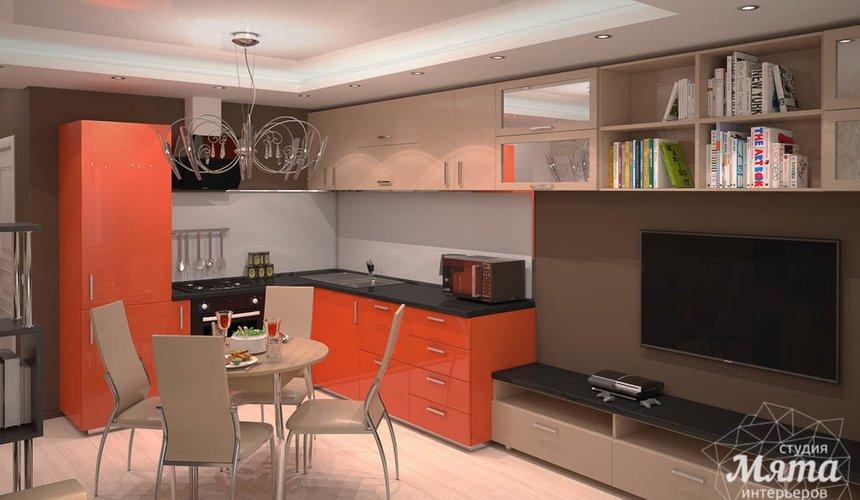 Дизайн интерьера однокомнатной квартиры по ул. Электриков 5 3