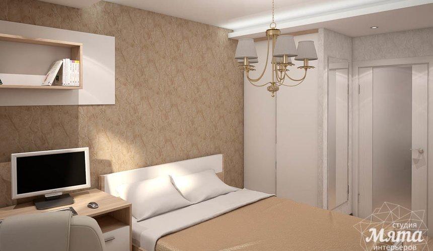 Дизайн интерьера однокомнатной квартиры по ул. Электриков 5 9