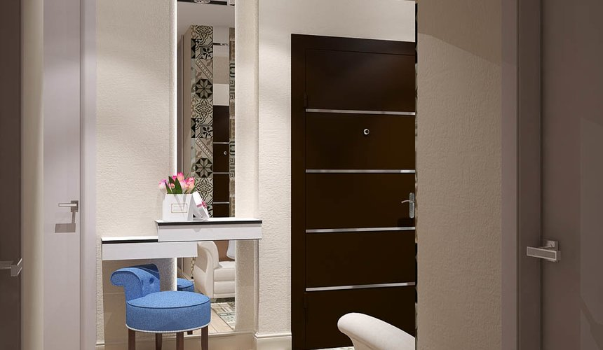 Дизайн интерьера и ремонт трехкомнатной квартиры по ул. Татищева 49 21