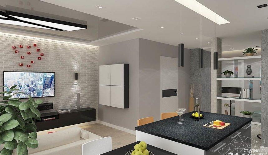 Дизайн интерьера двухкомнатной квартиры в ЖК Крылов 5