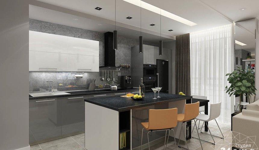 Дизайн интерьера двухкомнатной квартиры в ЖК Крылов 8