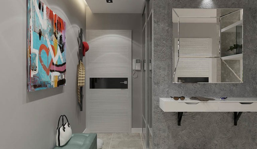 Дизайн интерьера двухкомнатной квартиры в ЖК Крылов 11
