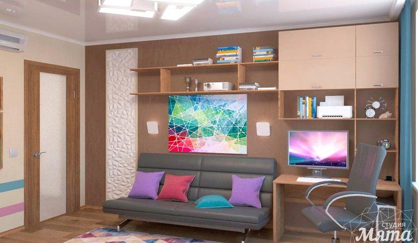 Дизайн интерьера однокомнатной квартиры по ул. Соболева 19 3