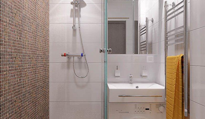 Дизайн интерьера и ремонт ванной комнаты и прихожей по ул. Крауля 70 11