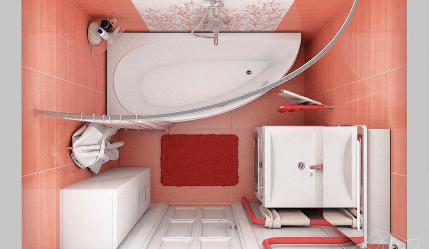 Дизайн интерьера ванной комнаты по ул. Калинина 77 3