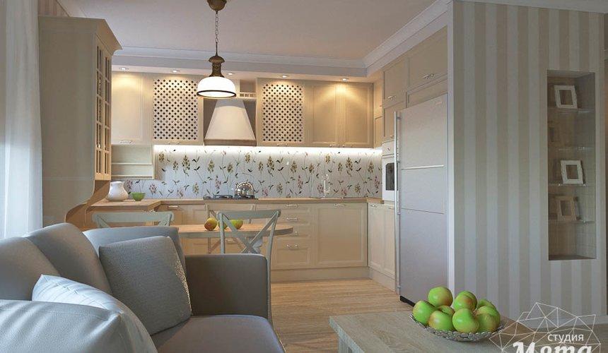 Дизайн интерьера однокомнатной квартиры по ул. Бажова 161 4