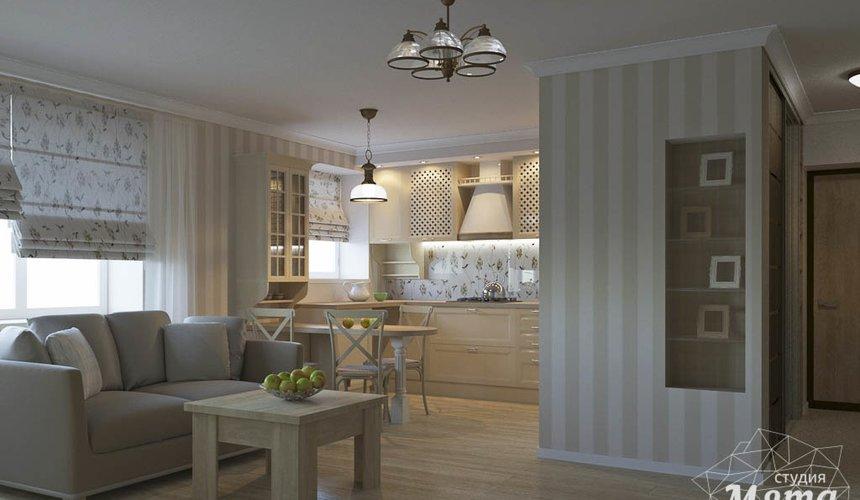 Дизайн интерьера однокомнатной квартиры по ул. Бажова 161 3