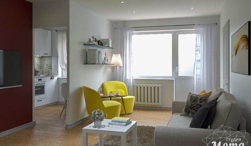 Дизайн интерьера двухкомнатной квартиры по ул. Мира 37а 7