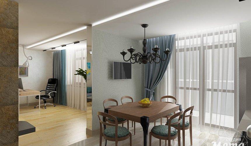 Дизайн интерьера и ремонт четырехкомнатной квартиры по ул. Союзная 2 43
