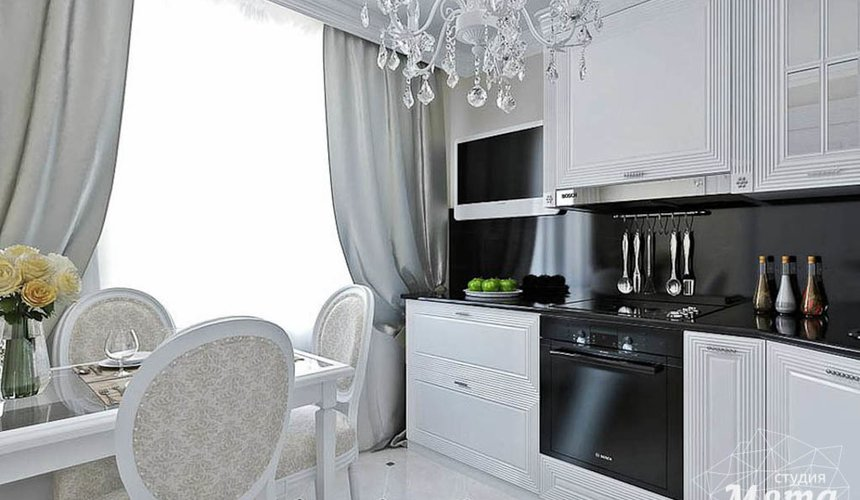 Дизайн интерьера однокомнатной квартиры по ул. Шевченко 19 3