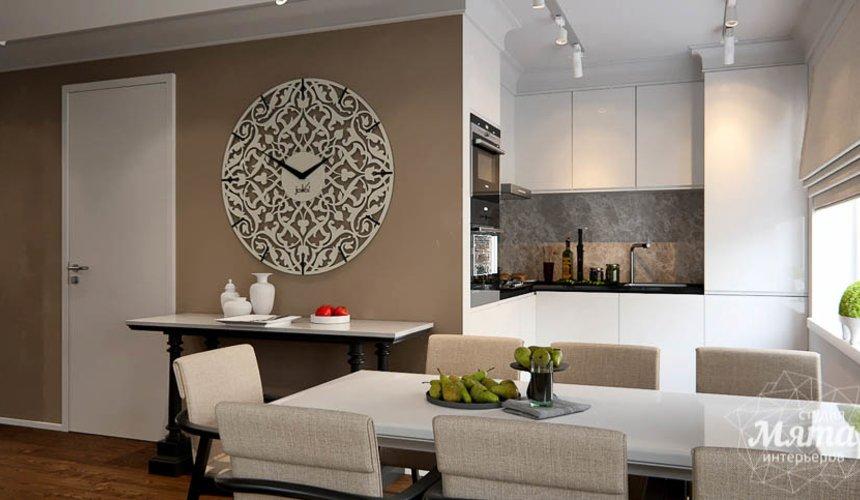 Дизайн интерьера двухкомнатной квартиры в Москве 16