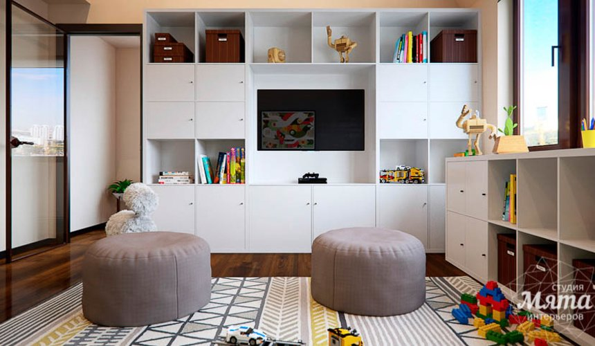 Дизайн интерьера детской в стиле лофт в Краснодаре 6
