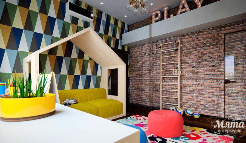 Дизайн интерьера детской в стиле лофт в Краснодаре 11