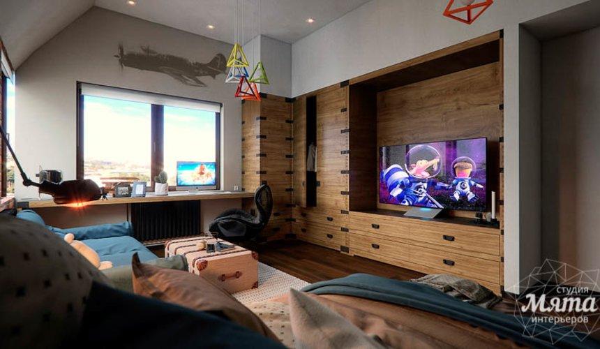 Дизайн интерьера детской в стиле лофт в Краснодаре 12