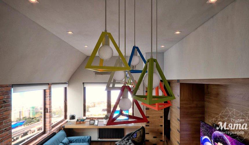 Дизайн интерьера детской в стиле лофт в Краснодаре 20