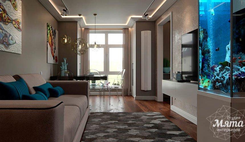 Дизайн интерьера трехкомнатной квартиры по ул. Шейнкмана 88 3